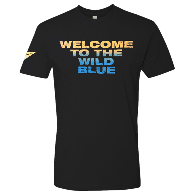 Hunter Hayes Black Wild Blue Tee